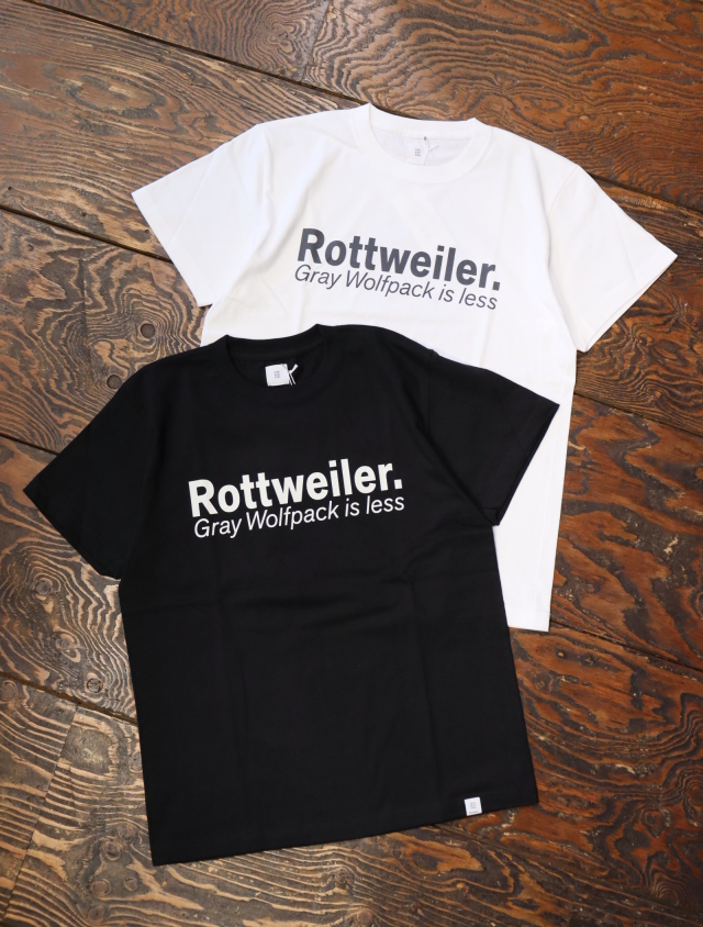 ROTTWEILER  「 G.W.P TEE 」  プリントティーシャツ