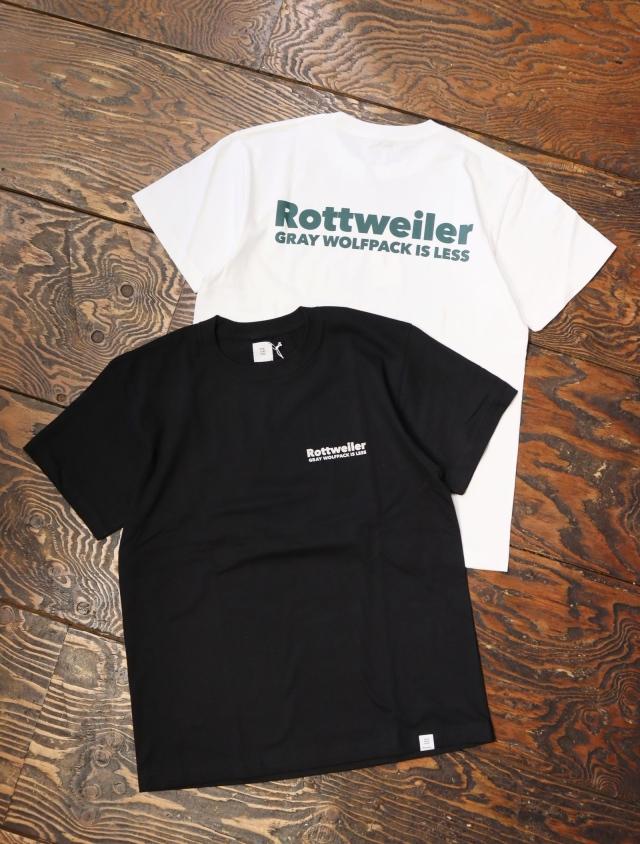 ROTTWEILER  「 90 R.W TEE 」  プリントティーシャツ