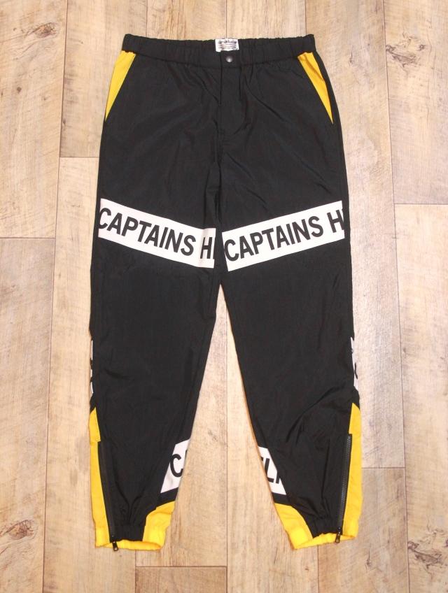 CAPTAINS HELM   「#E-TRACK PANTS」  トラックパンツ
