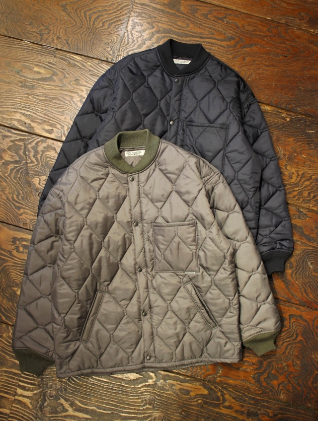 COOTIE  「X Wide CWU-9 Quilting Jacket」 キルティングジャケット