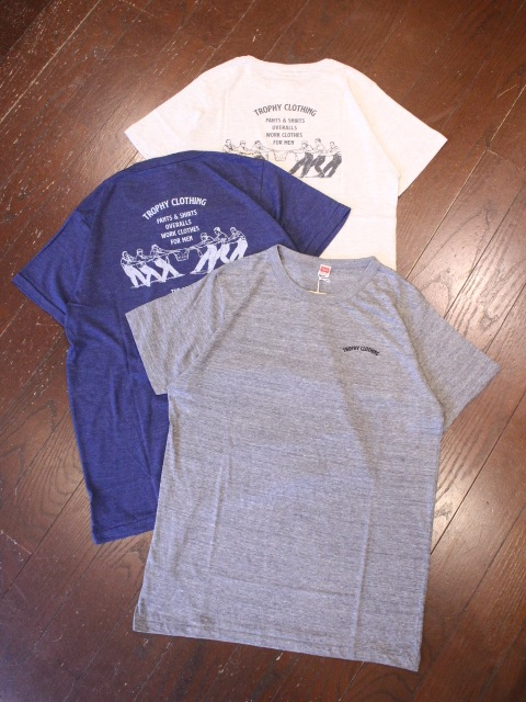 TROPHY CLOTHING  「Workers Mix Tee」  プリントティーシャツ