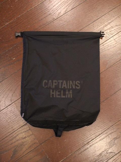 CAPTAINS HELM   「 #DRY BAG - 15L  」  ポータブルバッグ