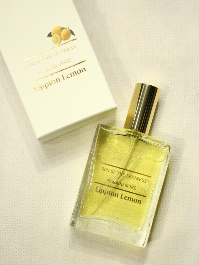 SON OF THE CHEESE  「Son of the sexiness (LIPPTON LEMON) 」  香水