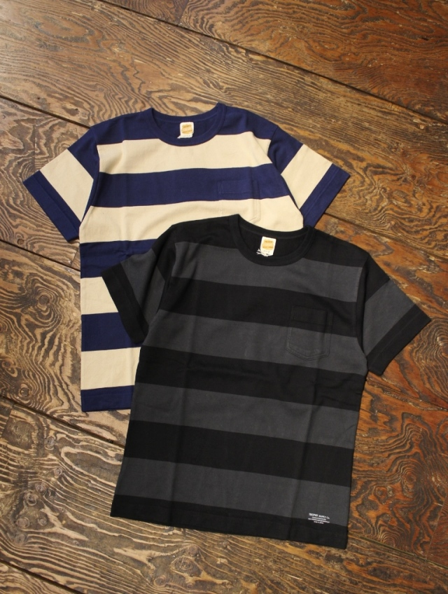 TROPHY CLOTHING  「Wide Border  S/S Tee」 ボーダーティーシャツ