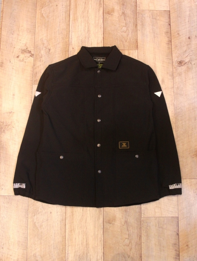 ROUGH AND RUGGED   「PROP LS」  ミリタリーシャツジャケット