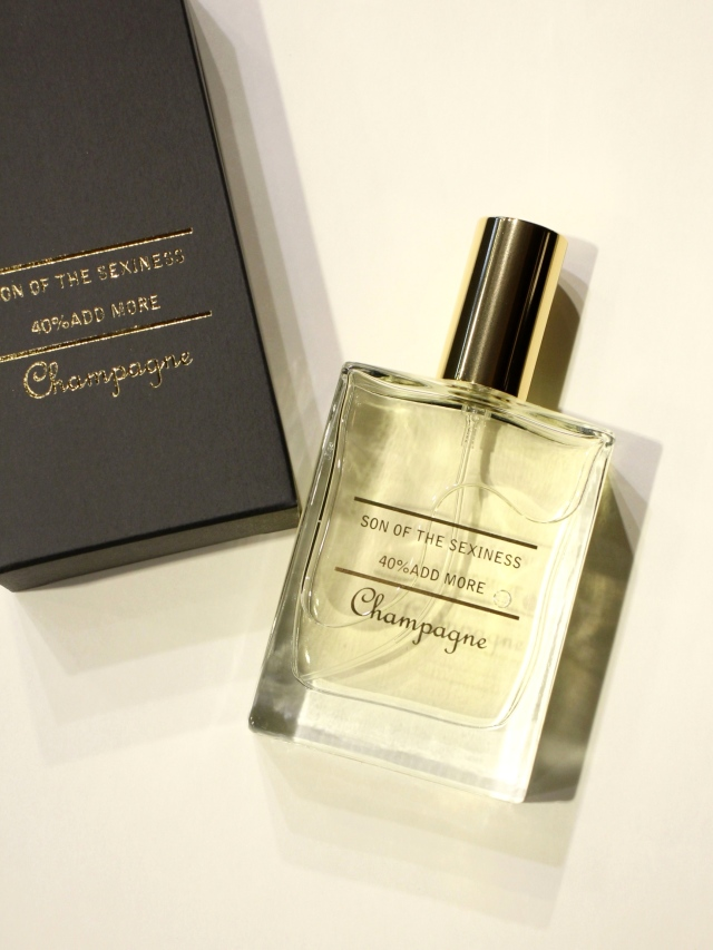 SON OF THE CHEESE  「Son of the sexiness Champagne」  香水