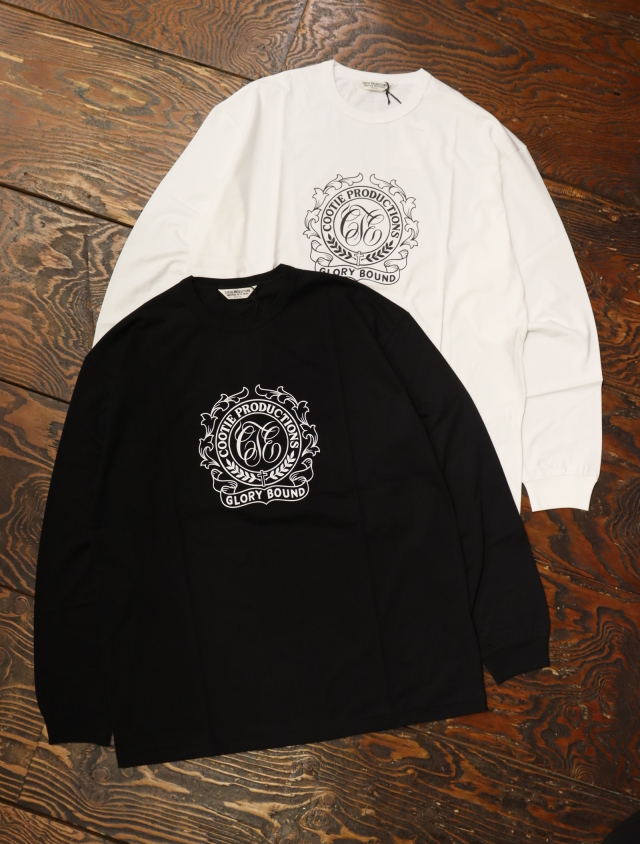 COOTIE  「 Print L/S Tee (GLORY BOUND) 」 リラックスフィットロンティー