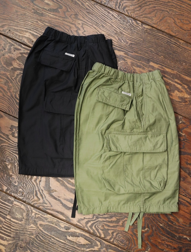 COOTIE  「 Back Satin Error Fit Cargo Easy Shorts 」 カーゴイージーショーツ