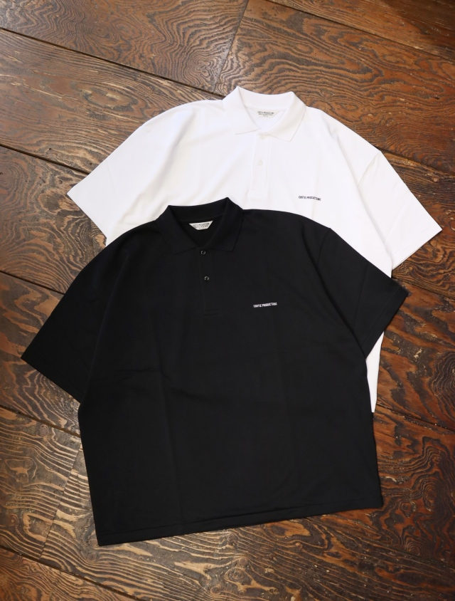 COOTIE  「Supima Cotton Sweat S/S Polo」 ポロシャツ
