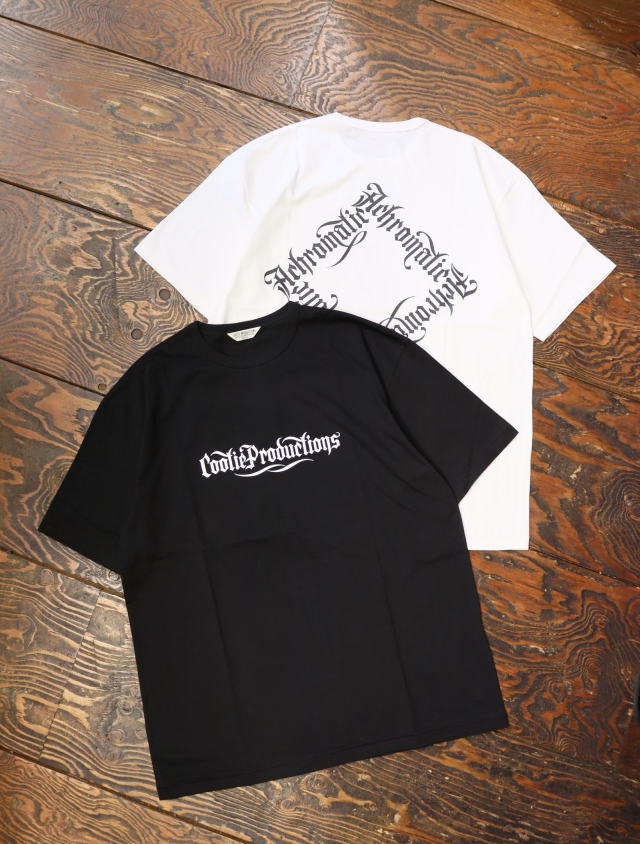 COOTIE  「Print S/S Tee (ACHROMATIC)」 プリントティーシャツ