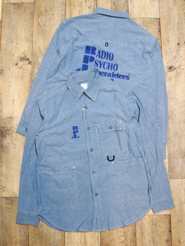Liberaiders  「R.P.L CHAMBRAY SHIRT」  シャンブレーシャツ