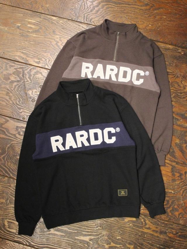 ROUGH AND RUGGED   「TRAIL」  スタンドカラー ハーフジップシャツ