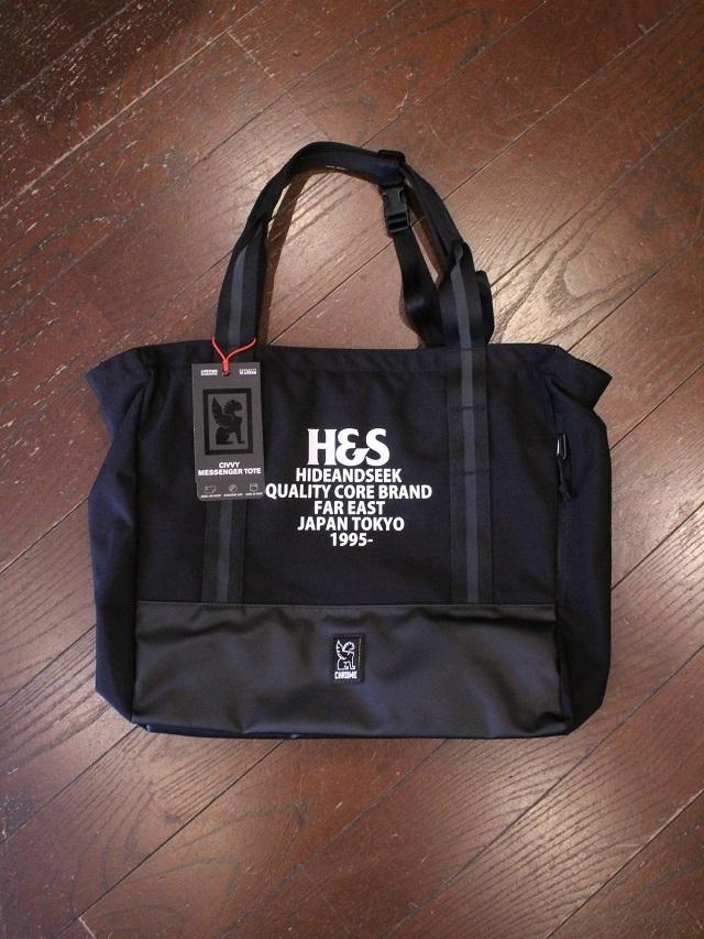 HIDEANDSEEK 「CIVVY MESSENGER Tote Bag」 トートバッグ