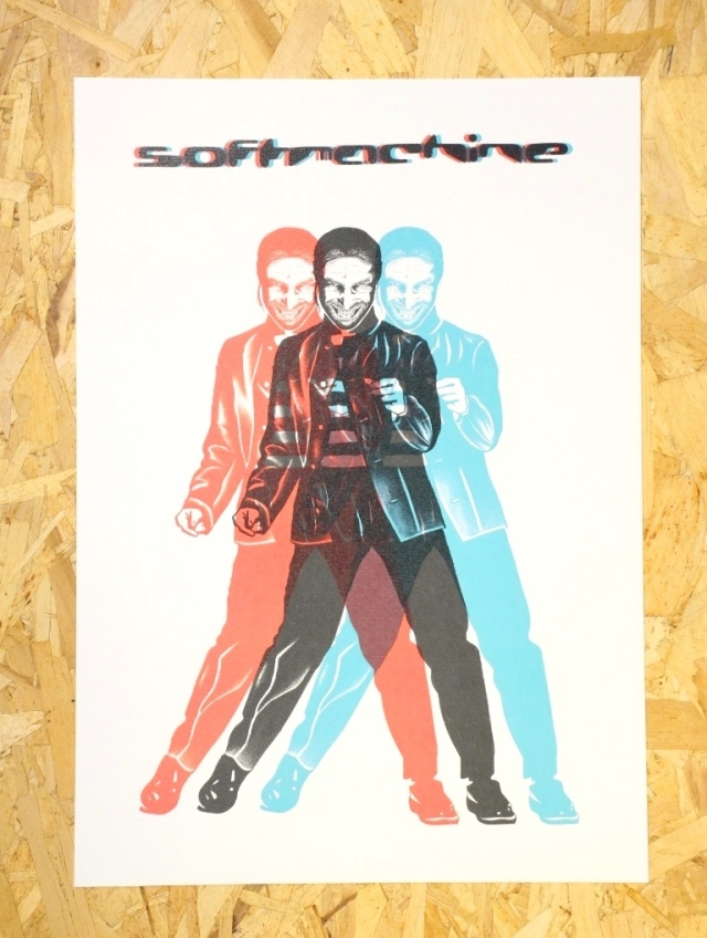 SOFTMACHINE  「DIMENSION POSTER」 A3サイズ ポスター