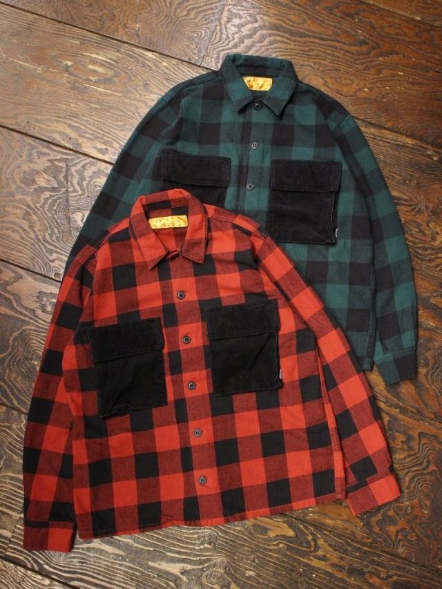 CHALLENGER    「L/S BUFFALO CHECK SHIRT」  チェックシャツ