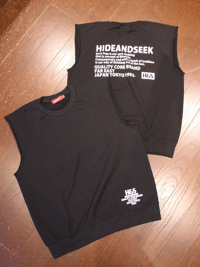 HIDEANDSEEK 「Cut Off Sweat Vest&Hooded」 スウェットベスト