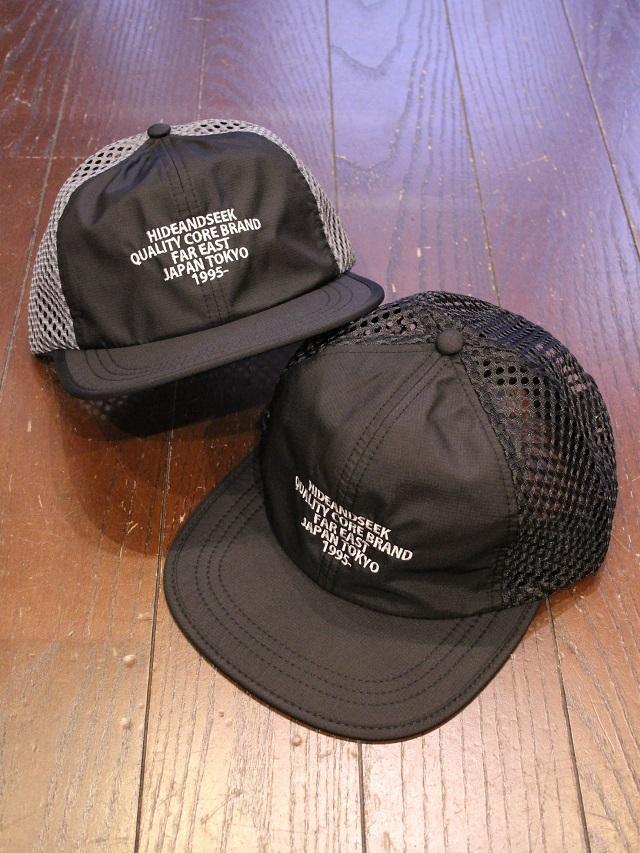 HIDEANDSEEK 「Logo Mesh CAP(21aw)」 メッシュキャップ