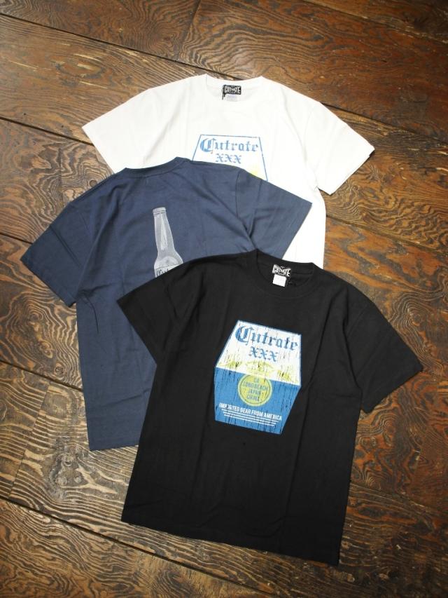 CUT RATE  「FES LOGO T-SHIRT」 クルーネックティーシャツ
