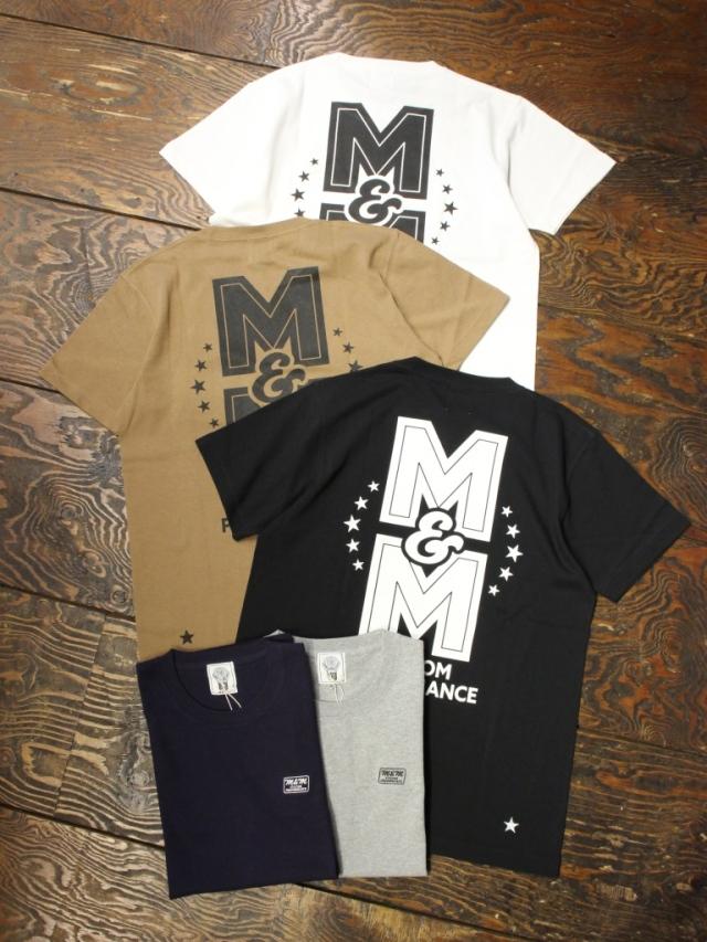 【 10月13日 発売!】 M&M CUSTOM PERFORMANCE   「 PRINT S/S T-SHIRT 」 プリントティーシャツ