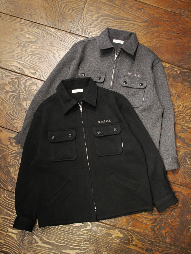 RADIALL  「MOON STOMP - REGULAR COLLARED SHIRT L/S」  CPOシャツジャケット