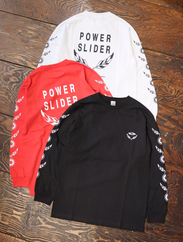 CHALLENGER    「POWER SLIDER L/S TEE」  プリントロンティー
