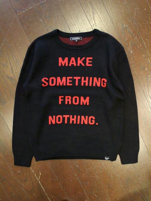CAPTAINS HELM   「#ROSE SWEATER」  クルーネックニットセーター