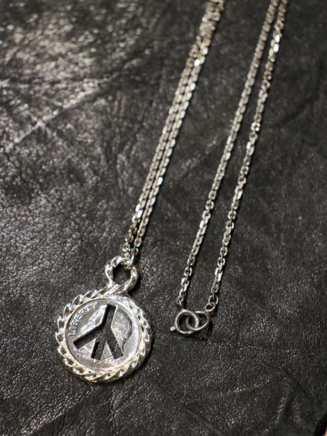 RADIALL  「TWIST - NECKLACE (SILVER) 」  ペンダントネックレス