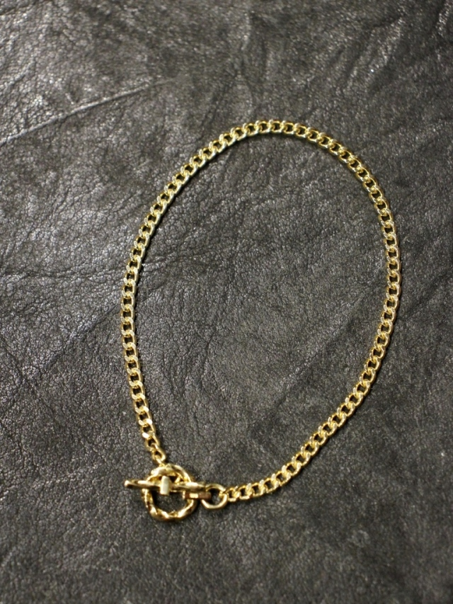 RADIALL  「MONTE CALRO - BRACELET (18K PLATE ) 」  喜平チェーンブレスレット