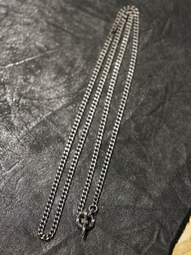 RADIALL  「MONTE CALRO - NECKLACE (SILVER) 」  喜平チェーンネックレス