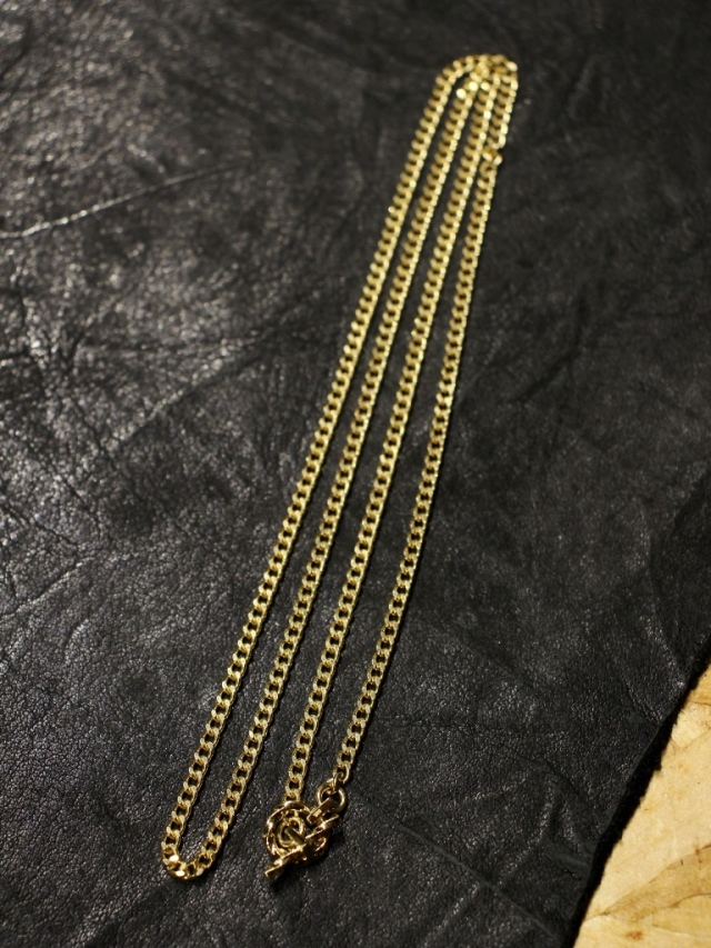 RADIALL  「MONTE CALRO - NECKLACE (18K PLATE ) 」  喜平チェーンネックレス