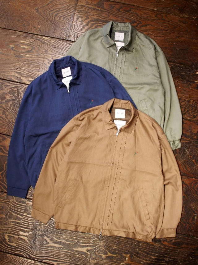 RADIALL  「TOWN CAR - ZIP UP BLOUSON」  ジップアップブルゾン