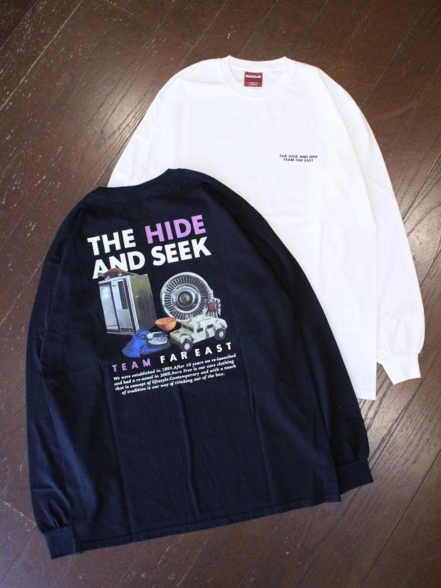 HIDEANDSEEK 「THE H&S Logo L/S Tee」 ロングスリーブティーシャツ