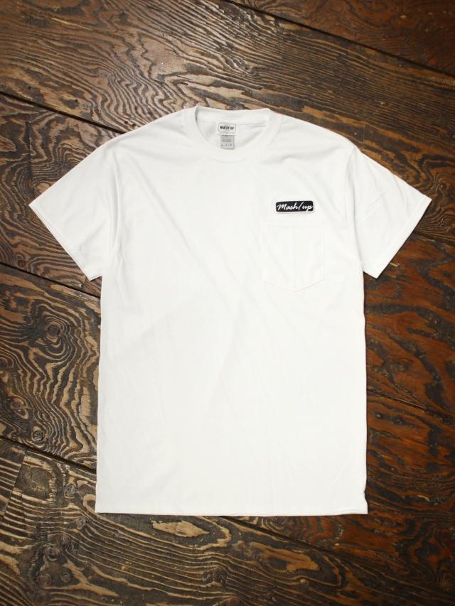 MASH UP  「 WAPPEN POCKET T-SHIRT 」 ワッペンポケットティーシャツ