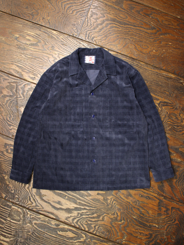 SON OF THE CHEESE  「 CROSS CORD SHIRT 」 コーデュロイワークシャツ