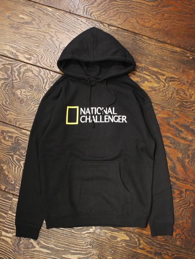CHALLENGER   「NATIONAL CHALLENGER HOODIE」 プルオーバーパーカー