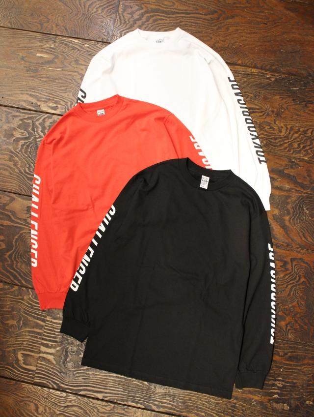 CHALLENGER   「L/S TOKYO BRIGADE TEE」 ロングスリーブティーシャツ