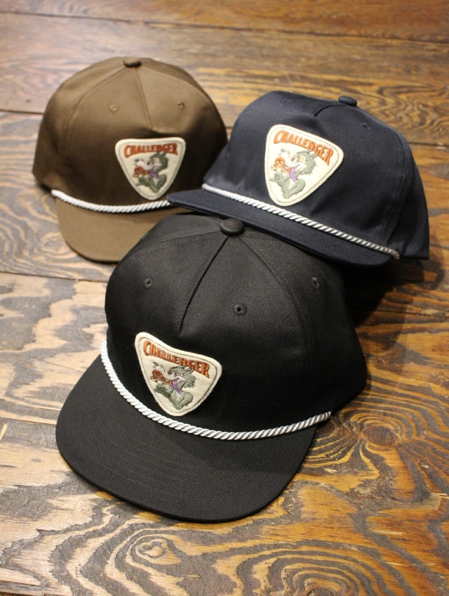 "CHALLENGER   「""CAN'T STOP"" CAP 」 ワッペンキャップ"