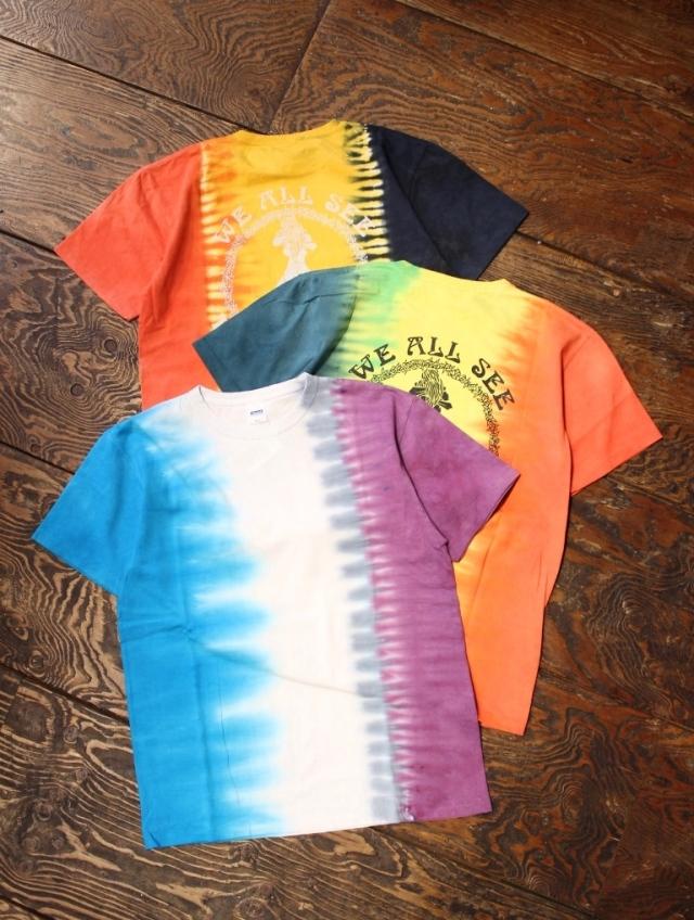RADIALL  「ARABICAN - CREW NECK T-SHIRT」 タイダイ染めティーシャツ