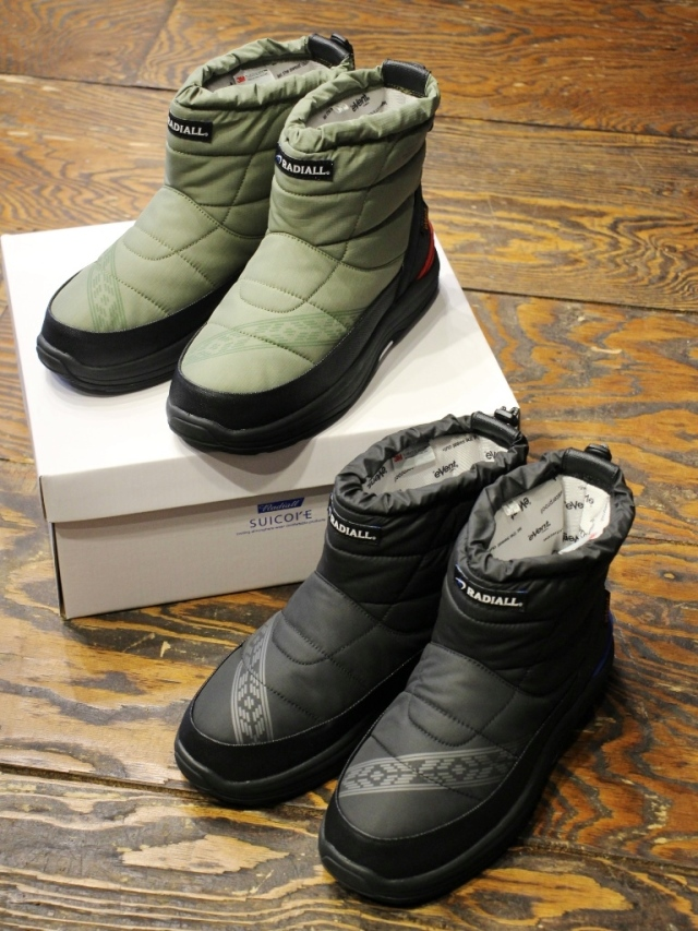 RADIALL × SUICOKE  「LAPAZ - BOWER PADDED BOOTS」 パデットブーツ