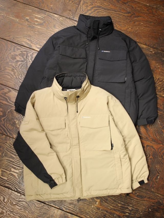 RADIALL × STAMMBAUM  「LAPAZ - STAND COLLARED DOWN JACKET」  ダウンジャケット