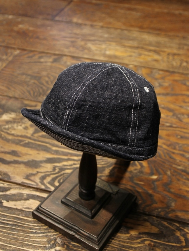 TROPHY CLOTHING  「Dirt Denim Prisoner Cap」  デニムプリズナーキャップ
