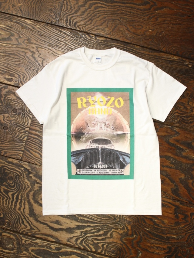 RADIALL × RYOZO BAND    「GET LOST - CREW NECK T-SHIRT S/S」 プリントティーシャツ