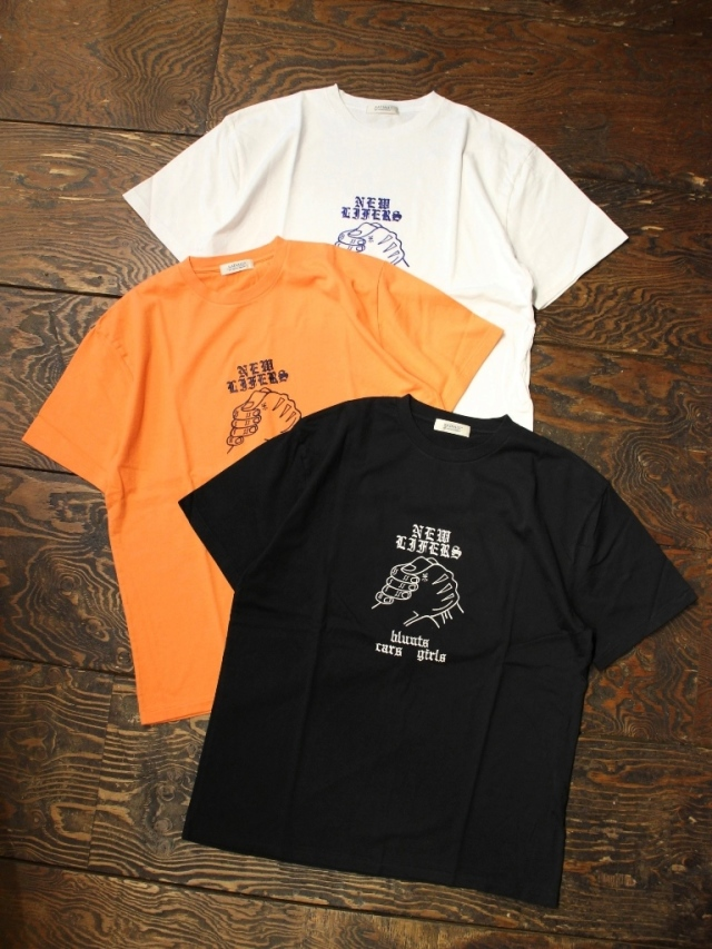RADIALL    「NEW LIFERS - CREW NECK T-SHIRT S/S」 刺繍ティーシャツ