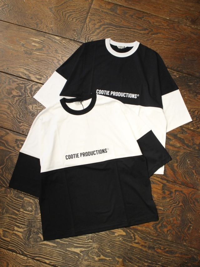 COOTIE  「Supima Cotton 2 Tone S/S Tee 」 2トーン ティーシャツ