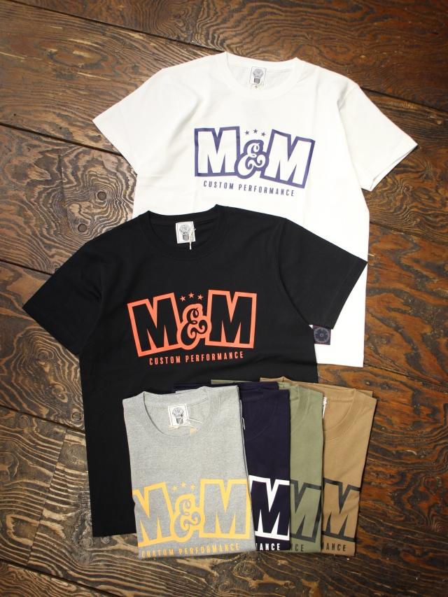 M&M CUSTOM PERFORMANCE   「PRINT S/S T-SHIRT (M&M CUSTOM PERFORMANCE)」 プリントティーシャツ