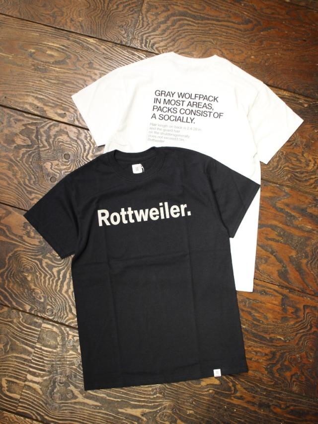 ROTTWEILER   「 R.W Tee  」   プリントティーシャツ