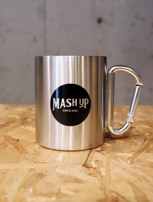 【先着順!20000円以上お買い上げでプレゼント!】 MASH UP 「STAINLESS MUG」 ステンレスマグカップ