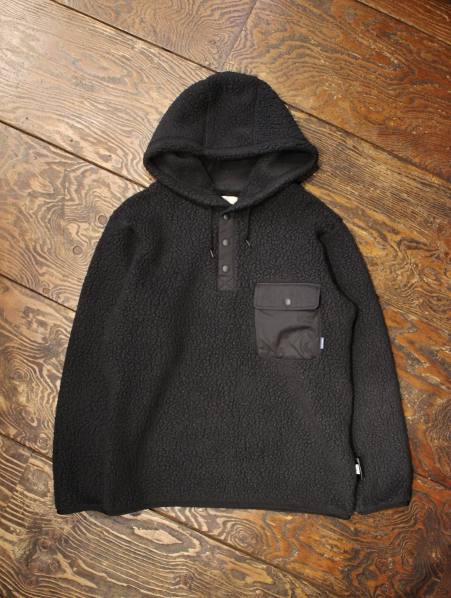 RADIALL   「SMOKEY CAMPER - FLEECE PARKA JACKET」  フリース フーデッドジャケット