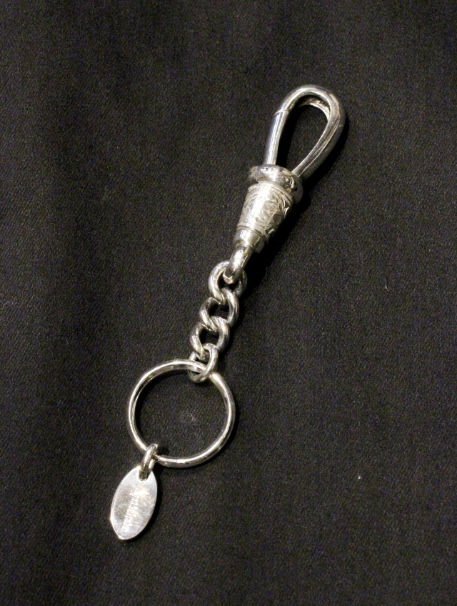 ANTIDOTE BUYERS CLUB by Cootie Productions  「 Classic Narrow Key Chain 」 SILVER950製 キーチェーン