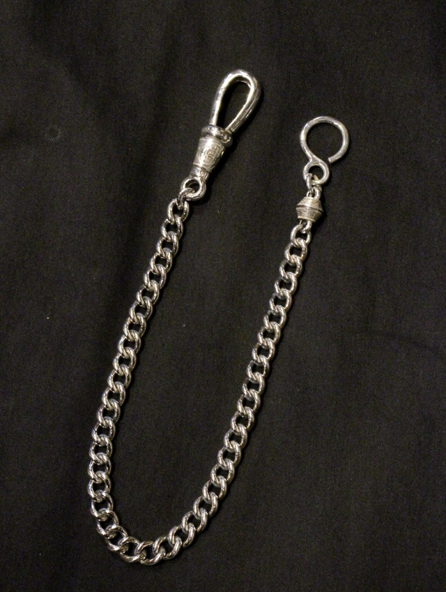 ANTIDOTE BUYERS CLUB   「Classic Narrow Wallet Chain」 SILVER950製 ウォレットチェーン